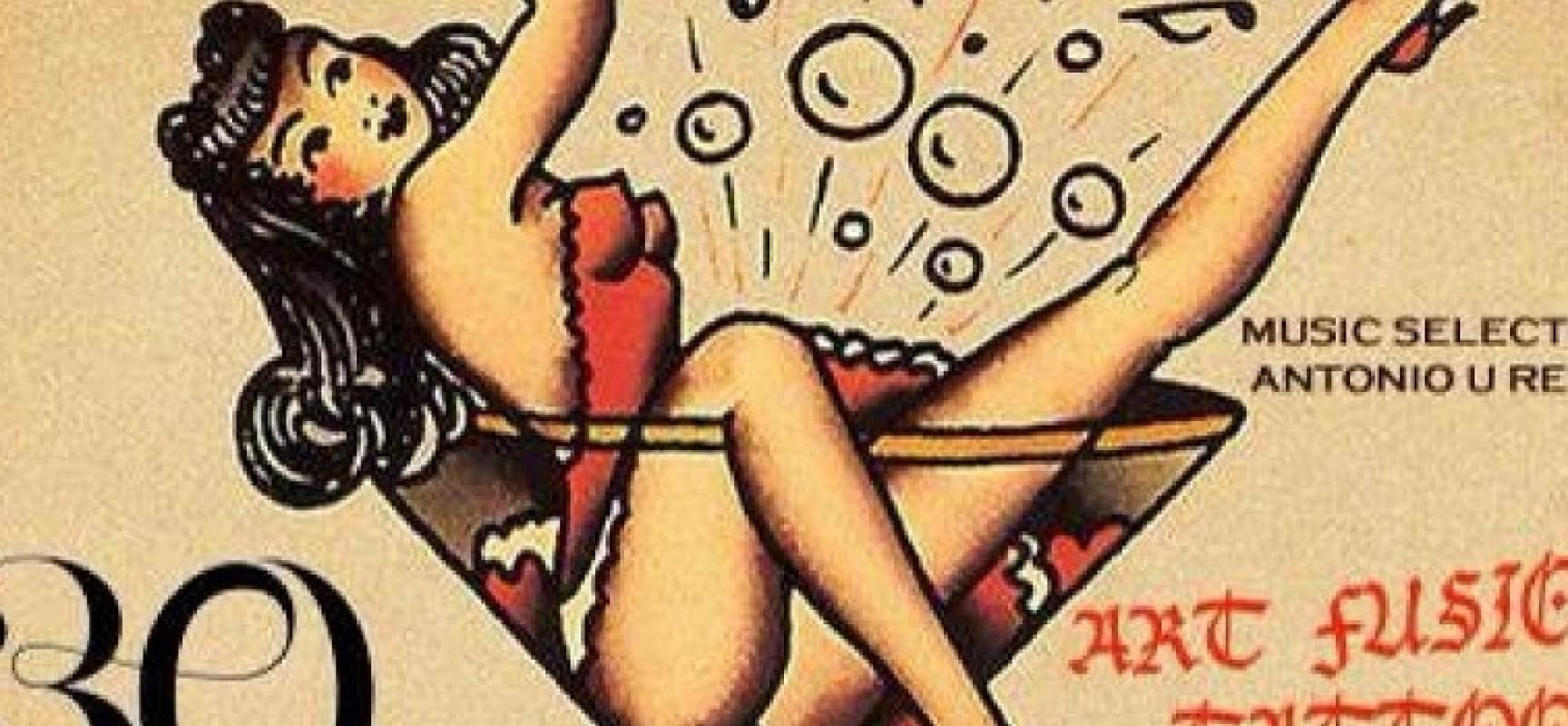 """Questa sera """"Art Fusion Tattoo"""" al Rosso Cardinale"""