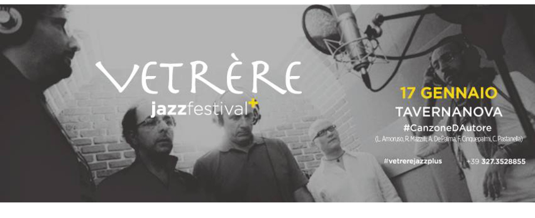 Vetrère Jazz Festival plus, arriva la canzone d'autore: Tavernanova in concerto