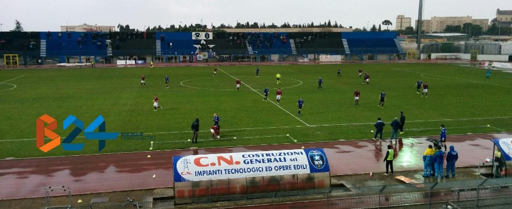 Zotti inventa Lacarra segna, Bisceglie-Puteolana 2-0