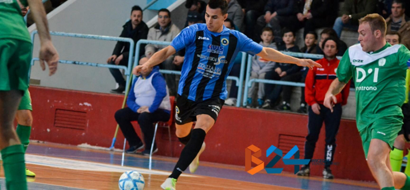 Il Futsal Bisceglie vince e convince: 7-2 al Giovinazzo