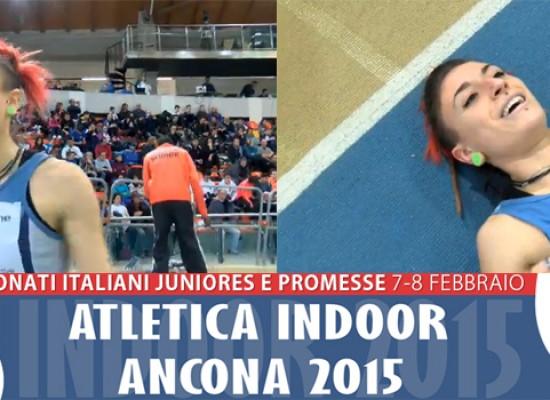 Lucia Pasquale campionessa italiana nei 400 metri indoor categoria Promesse / FOTO