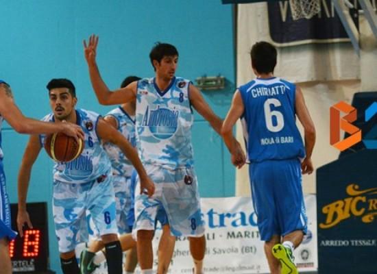 Ambrosia basket pronta ad una nuova sfida, domenica derby contro la Geofarma Mola