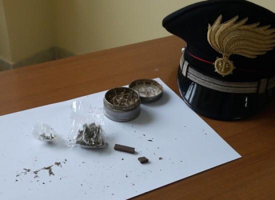 Hashish e marijuana in casa. Carabinieri arrestano 30enne biscegliese sorvegliato speciale