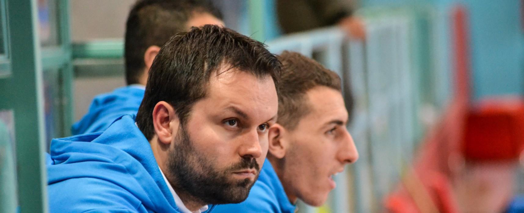 """Futsal Bisceglie, Anellino: """"Orgogliosi dei nostri ragazzi"""""""