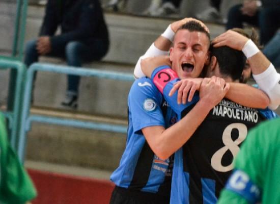 Online gli hightlights della vittoria del Futsal Bisceglie sul Giovinazzo/VIDEO