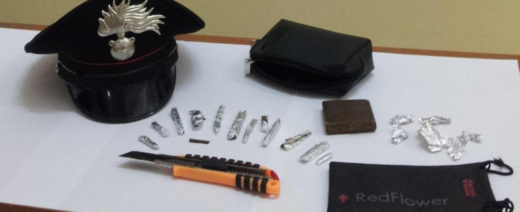 Deteneva dosi di hashish, Carabinieri arrestano 23enne albanese mentre si aggirava nei pressi di una scuola