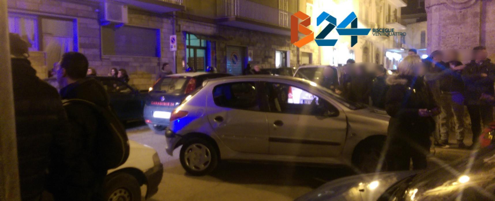 Rissa in via Sabino Logoluso del 29 gennaio: arrestato un biscegliese 34enne già noto alle forze dell'ordine