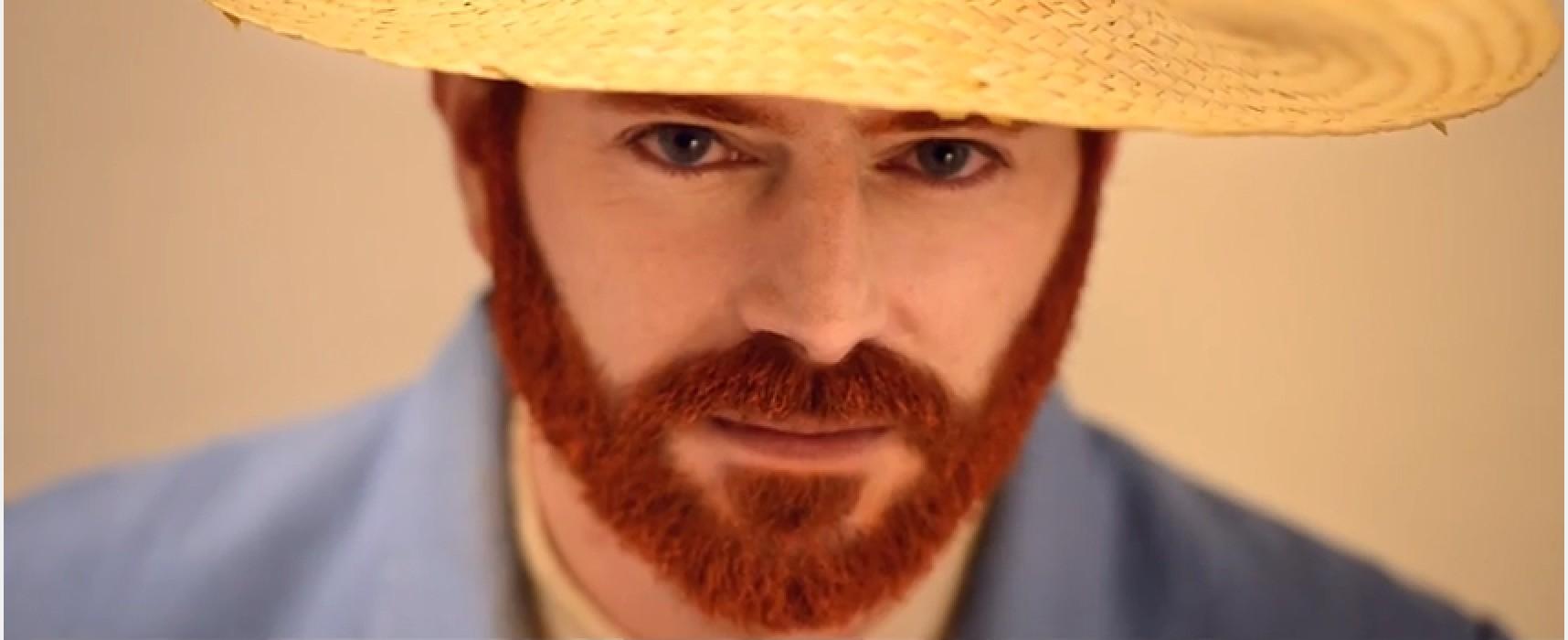 Il Van Gogh di Caparezza è biscegliese, Alberto D'Andrea protagonista del videoclip