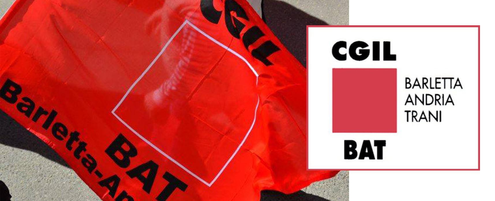 Luoghi di lavoro e personale, temi dell'incontro tra Cgil Bat e amministrazione