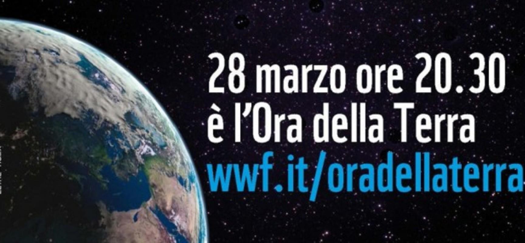"""""""Earth Hour"""": Bisceglie spegne il monumento ai Caduti, in mattinata incontro al Liceo"""