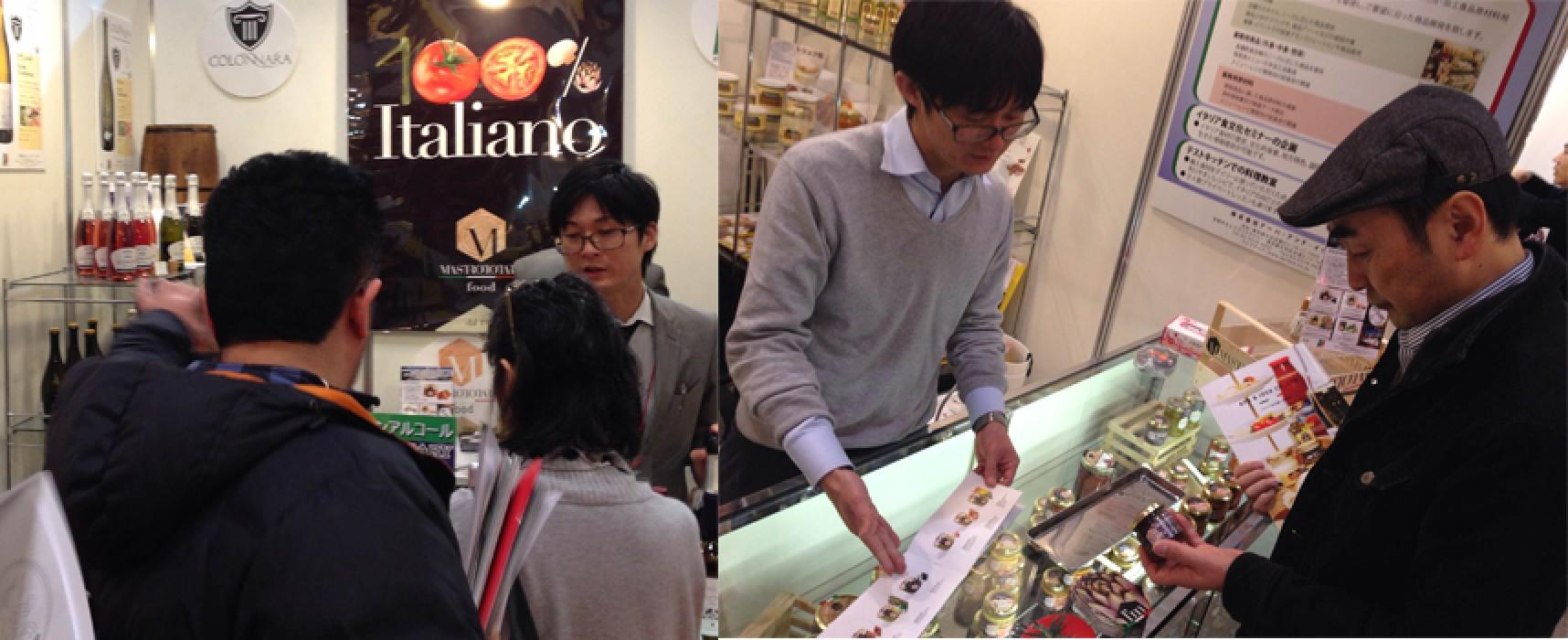 Anche i prodotti nostrani di due aziende biscegliesi al Foodex Japan 2015
