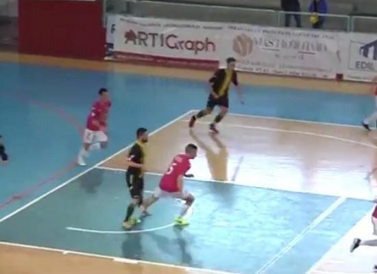 Online gli highlights di Futsal Bisceglie-Campobasso/VIDEO