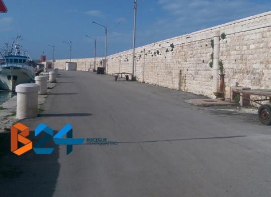 Al via i lavori al molo di levante, tratto di via Nazario Sauro chiuso al traffico sino a fine agosto