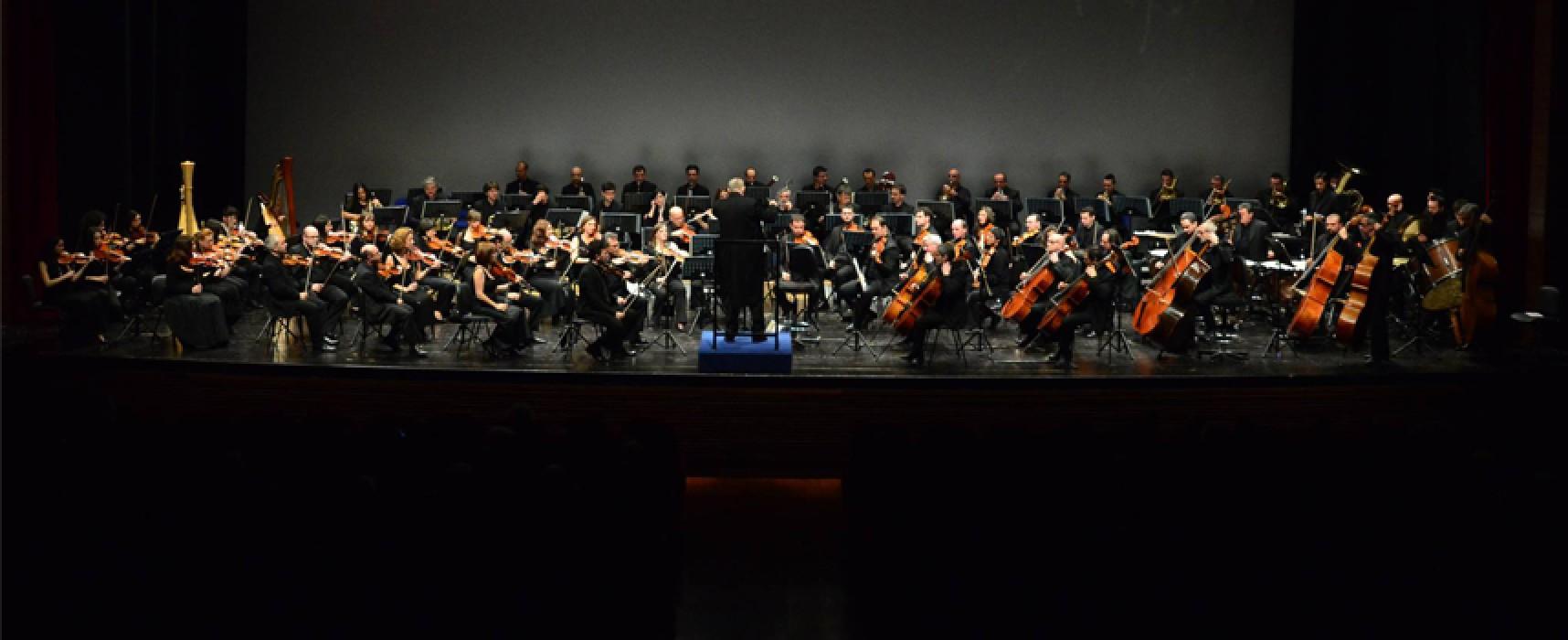 """Tutto fa Broadway"", tappa biscegliese per l'Orchestra Sinfonica di Bari"