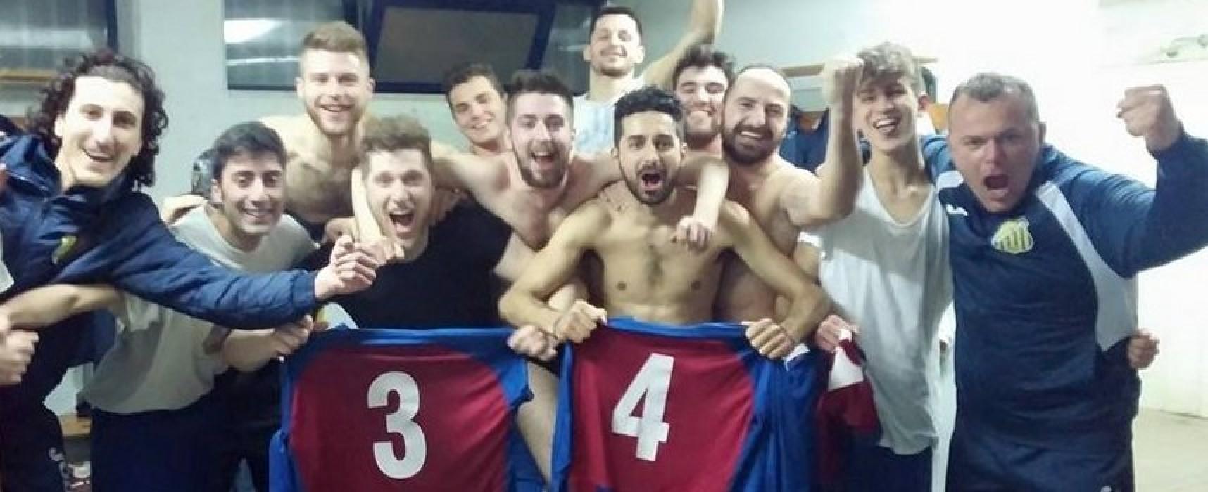 Un Santos Club in emergenza sbanca Ruvo/CLASSIFICA