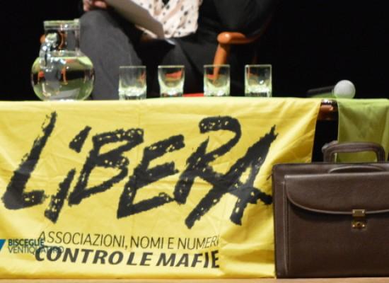 Presidio Libera Bisceglie al Teatro Garibaldi in ricordo di Sergio Cosmai / VIDEO