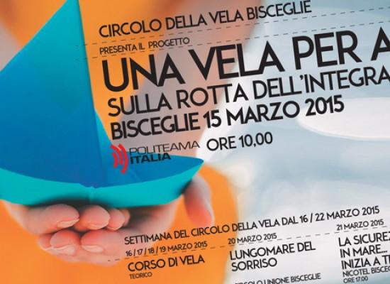 """Il Circolo della Vela presenta il progetto """"Una vela per amico"""" rivolto a ragazzi diversamente abili"""