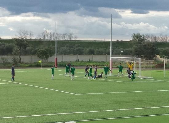 L'Unione Calcio evita nel finale la sconfitta a Bitritto