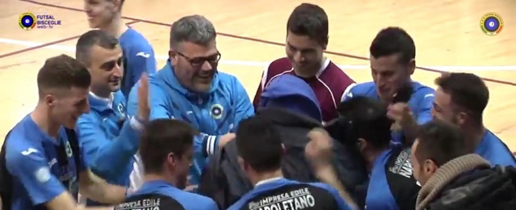 Gli hightlights della goleada del Futsal Bisceglie a Manfredonia/VIDEO