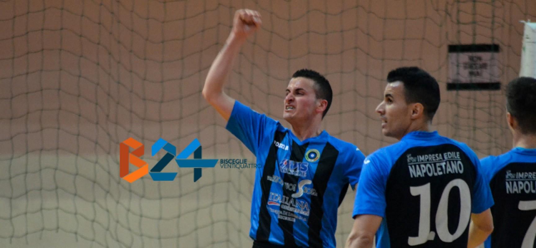 Futsal Bisceglie fuori dalla coppa Italia