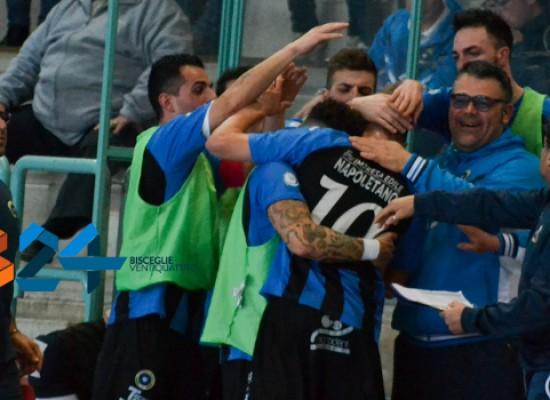 Esordio ok in coppa Italia per il Futsal Bisceglie/VIDEO