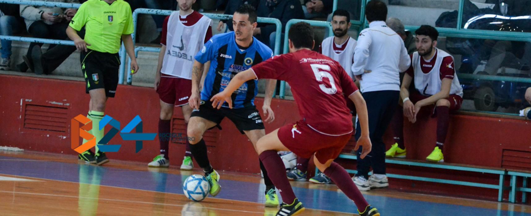 Futsal Bisceglie, la promozione in A2 si avvicina sempre più