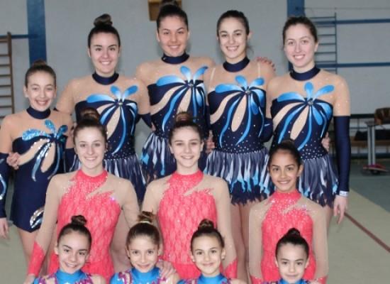 Ginnastica Ritmica Iris, la squadra Prima fascia vince la Gara Regionale Sincrogym