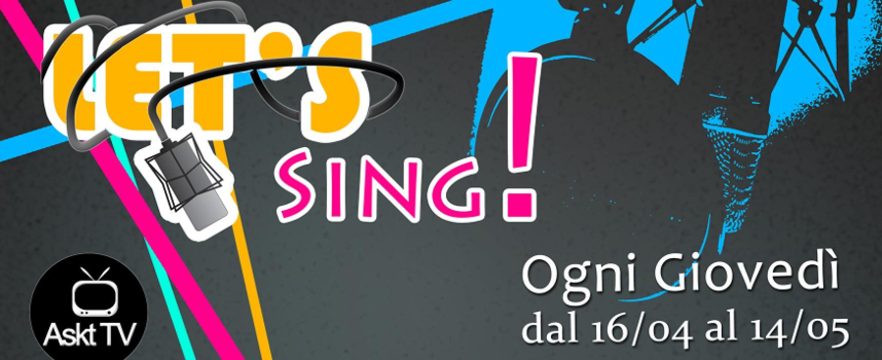 """Talent di canto """"Let's Sing!"""", mercoledì 25 marzo ultimo giorno per iscriversi alle audizioni"""