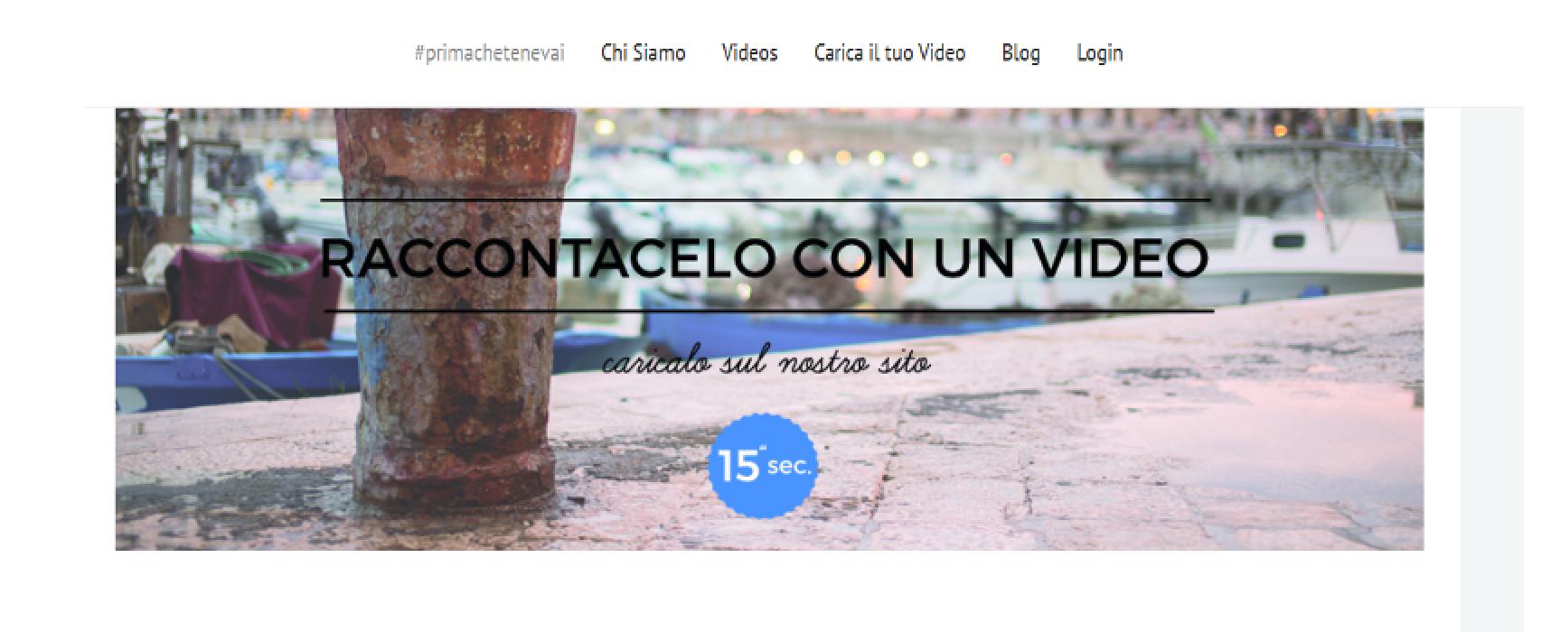 #PrimaCheTeNeVai, progetto dei biscegliesi Scaringella, Tattoli e Bombini, presentato oggi a Bari