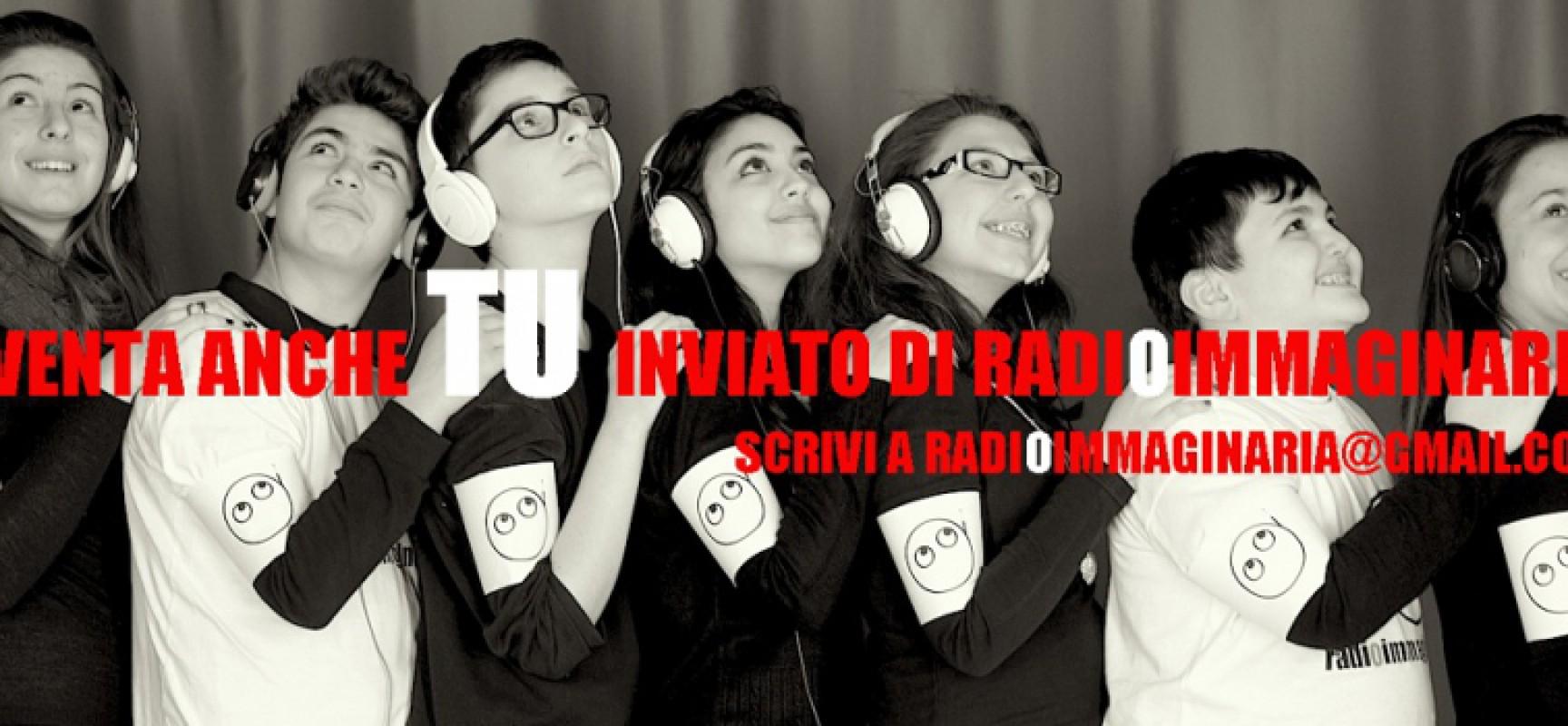 Radio Immaginaria, la radio degli adolescenti, cerca corrispondenti dagli 11 ai 17 anni / DETTAGLI
