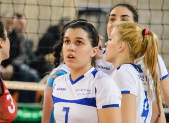Sportilia, la rimonta è solo sfiorata: sconfitta al tie-break nell'esordio stagionale