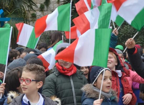 154esimo anniversario dell'Unità d'Italia, FOTO e VIDEO della celebrazione in città