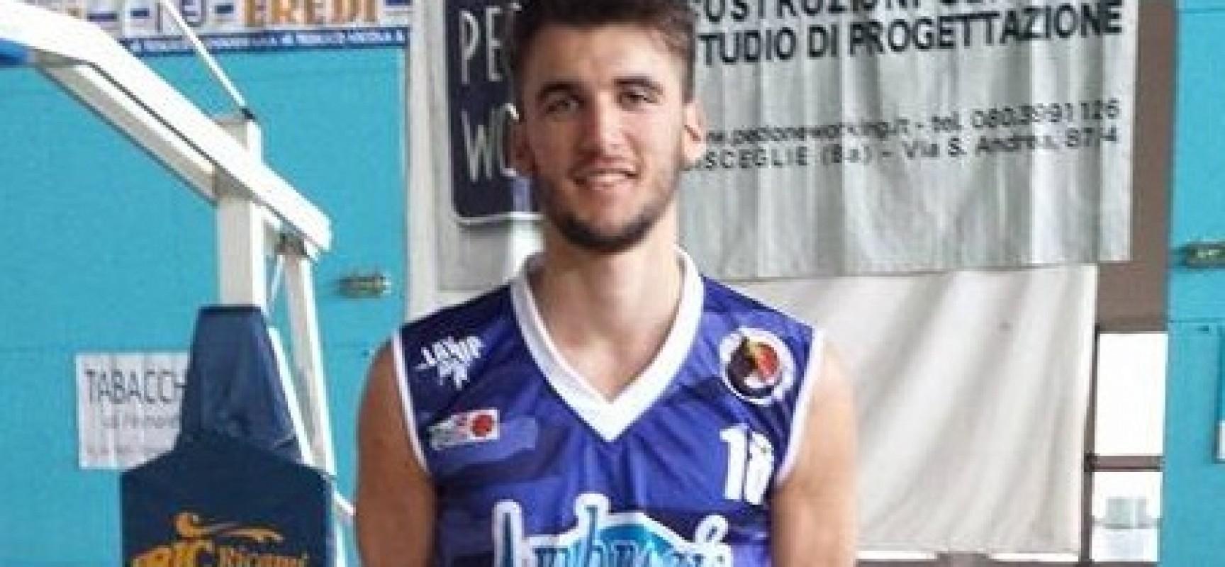 L'Ambrosia Bisceglie tessera Antonio Smorto, ulteriormente rafforzato il roster