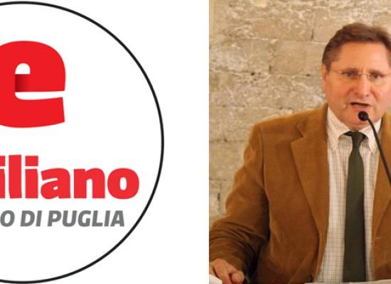 Spina nomina Camero coordinatore cittadino della lista Emiliano sindaco di Puglia