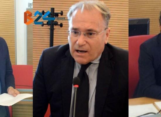 Il VIDEO del consiglio provinciale, dichiarazioni di Corrado, Sgaramella e Spina