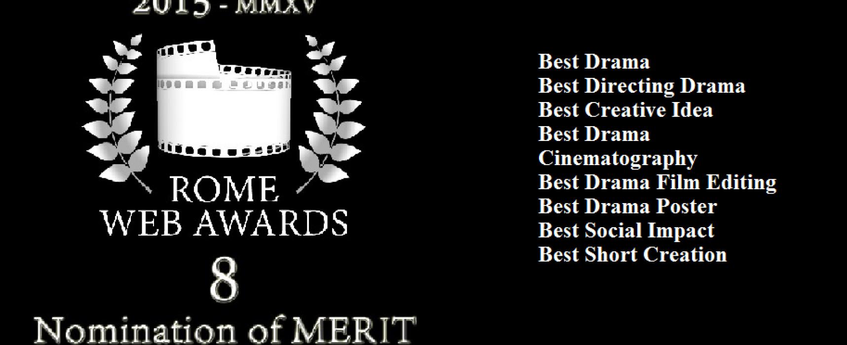 """""""Un solo attimo"""" vince il premio miglior montaggio ai Rome Web Awards"""