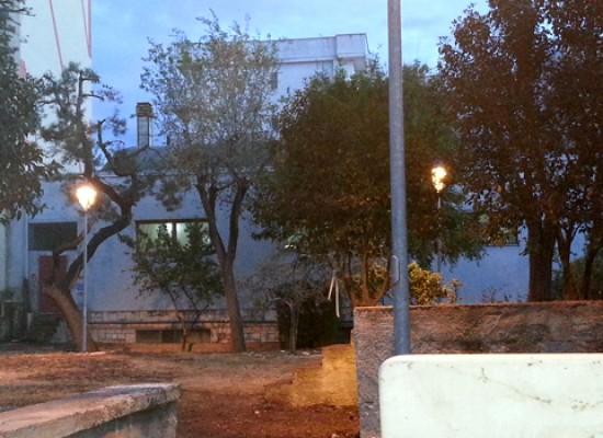 Inaugurato il giardino della parrocchia di Santa Caterina