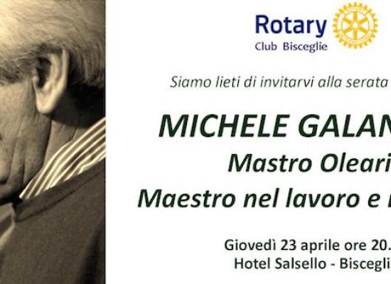Il Rotary Club ricorda Michele Galantino presso l'Hotel Salsello