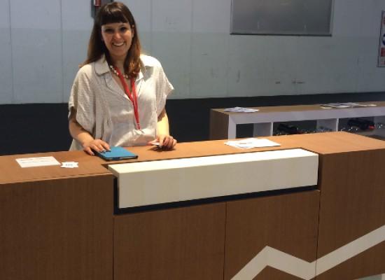 Riscontri più che positivi per l'arredatrice biscegliese Monica Gisondi al Salone del Mobile di Milano / FOTO