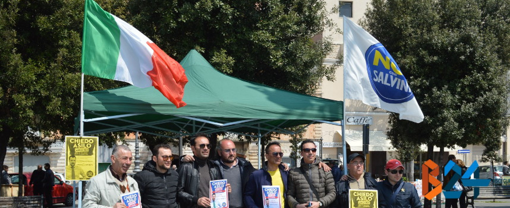 Gazebo di Noi con Salvini anche a Bisceglie, intervista a Rocco Prete e Rossano Sasso / VIDEO