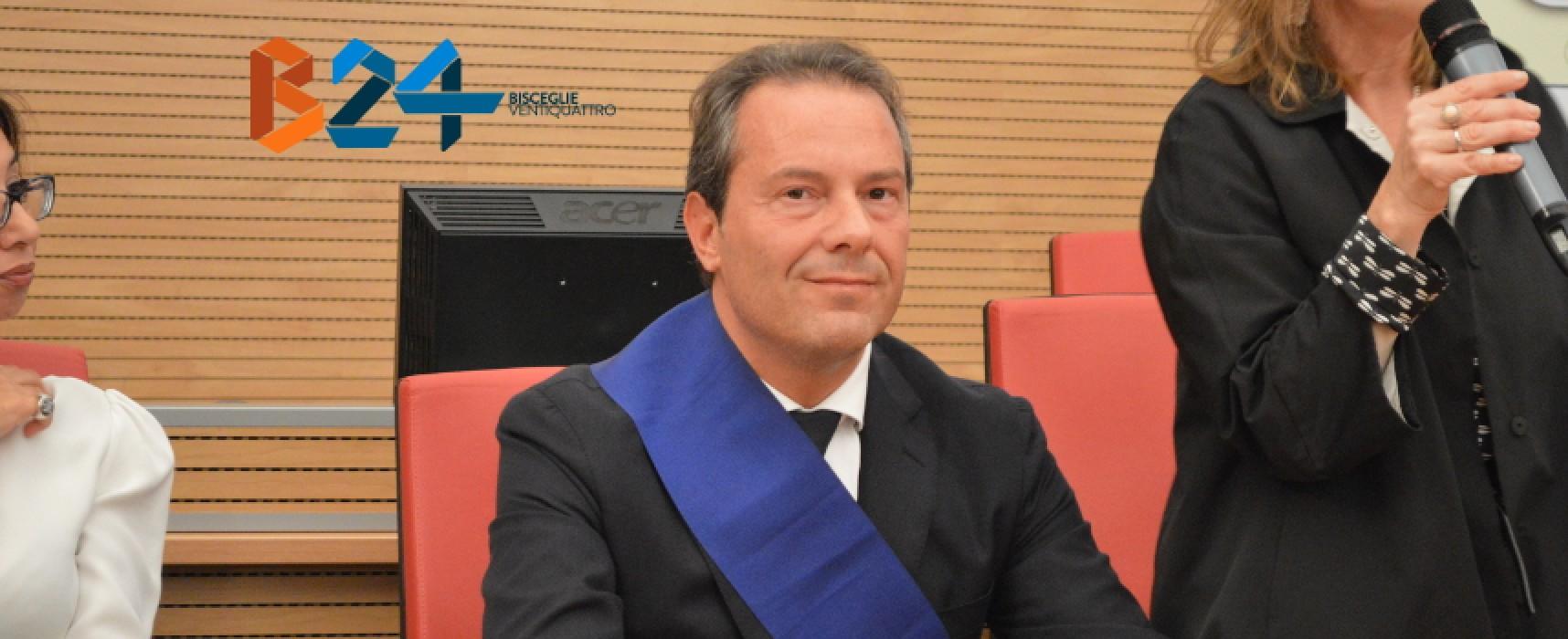 Ufficiale: Spina si è dimesso da presidente della Provincia Bat