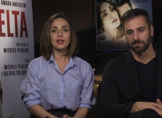 """""""La scelta"""", i ringraziamenti di Ambra Angiolini e Raoul Bova a Bisceglie e ai biscegliesi / VIDEO"""