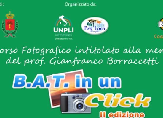 """""""BAT in un click"""", ultimi giorni per partecipare al concorso fotografico della Pro Loco"""