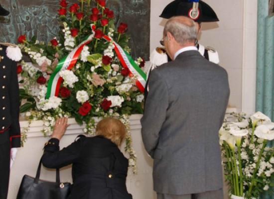 Nono anniversario della morte di Carlo De Trizio, celebrata la cerimonia di commemorazione