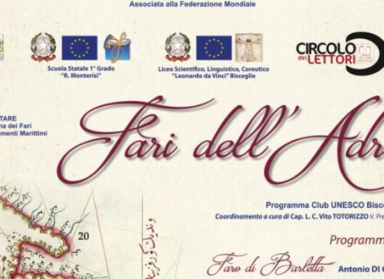 """""""Fari dell'Adriatico"""": tre giornate di In-Formazione per le scuole con il Club UNESCO"""