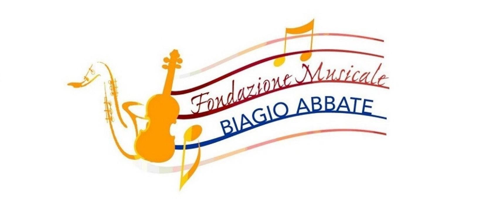 """La Fondazione musicale Biagio Abbate promuove """"Musica e parole"""" per gli studenti"""
