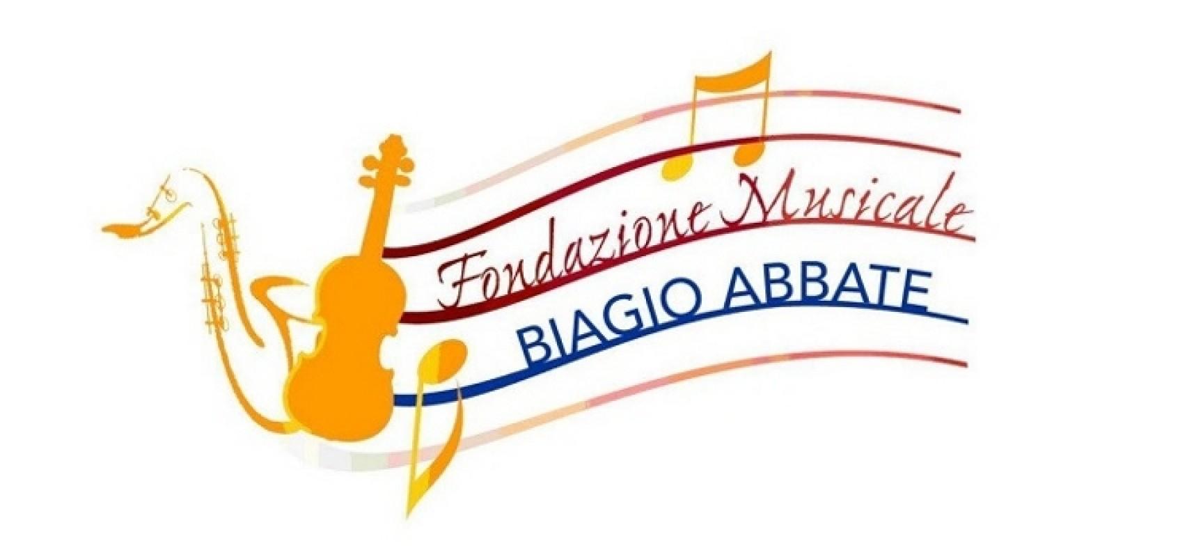 """Fondazione Biagio Abbate, oggi l'inaugurazione del nuovo auditorium """"Enzo Papagni"""""""