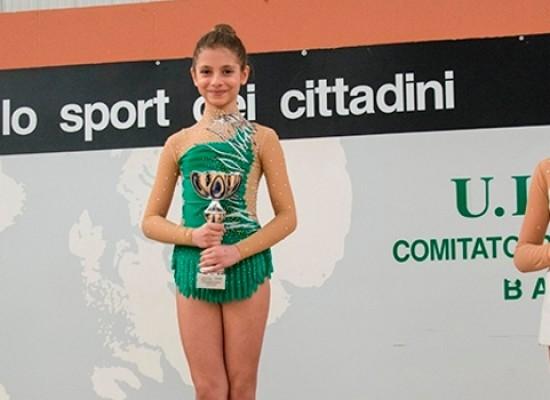 Ginnastica ritmica, vittorie per le biscegliesi Simone, Dell'Aquila e Valente
