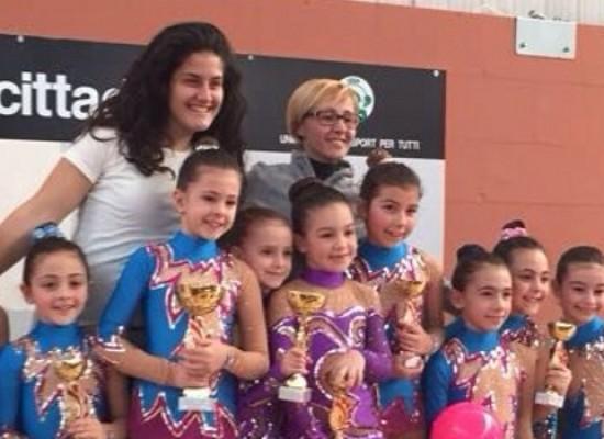 Ginnastica Ritmica: alla gara regionale UISP ben 35 ginnaste dell'Iris Bisceglie