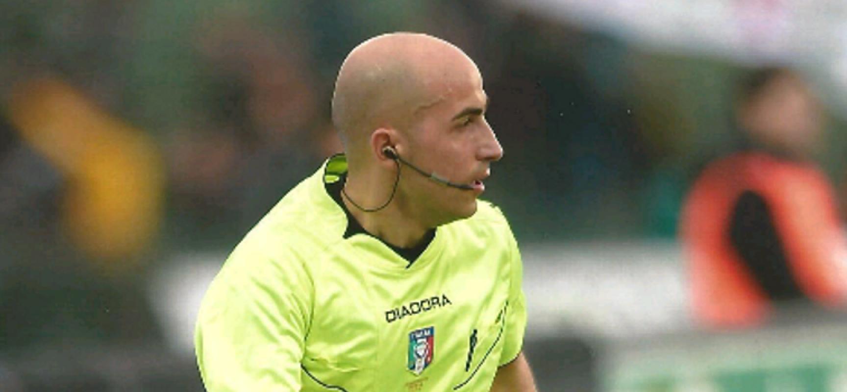 Calcio: domenica esordio in serie A per l'assistente Emanuele Prenna